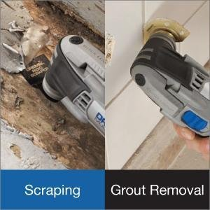 Scraping and Grout Removal