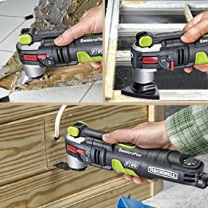 Cutting, sanding, scraping, grout removal and more – the Rockwell Universal Accessory line,